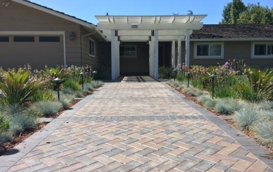 home brickwalk